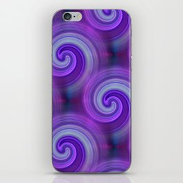 2D - abstraction -b- iPhone Skin