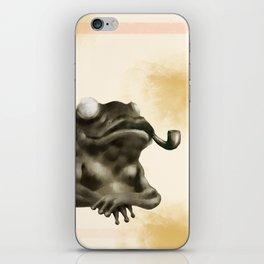 Gentleman Frog iPhone Skin