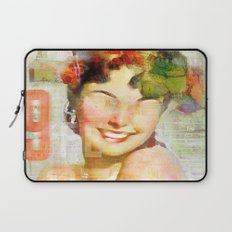 The girl of the 9th floor Laptop Sleeve