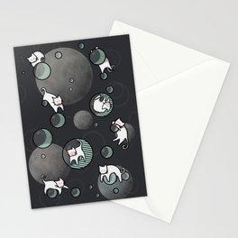 BubbleCat Stationery Cards