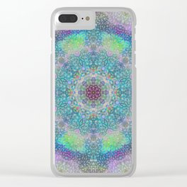 Unity through Creation Clear iPhone Case