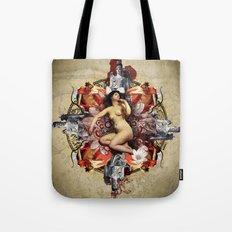 Kaleidoscope Woman Tote Bag