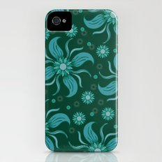 Floral Obscura iPhone (4, 4s) Slim Case