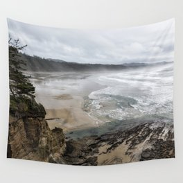 Lookout Point near Otter Rock Wall Tapestry
