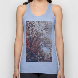 NYC Cherry Blossoms on the Lower East Side Unisex Tank Top