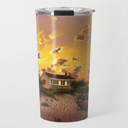 lighthouse landscape sky Travel Mug