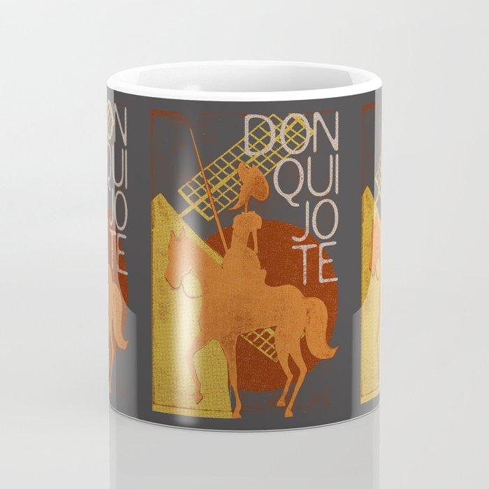 Books Collection: Don Quixote Coffee Mug