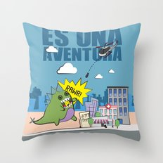 Adventure!  Throw Pillow
