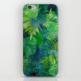 Forest Flora 8 iPhone Skin