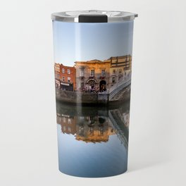River Liffey Reflections Travel Mug
