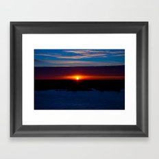 And With Every Breath, There You Are Framed Art Print