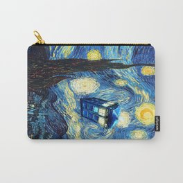 Soaring Tardis doctor who starry night iPhone 4 4s 5 5c 6, pillow case, mugs and tshirt Carry-All Pouch