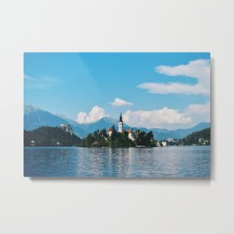 Lake Bled, Slovenia Metal Print