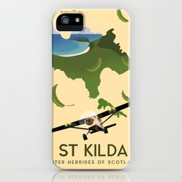 St Kilda, Outer Hebrides Scotland iPhone Case