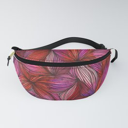 brightly blooming full Fanny Pack
