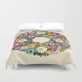 midsummer crown cream Duvet Cover