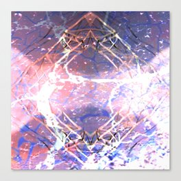 Abstract Ripple Reflection Canvas Print