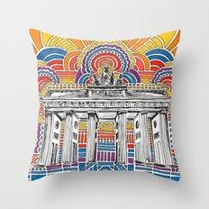 Brandenburger Tor Throw Pillow