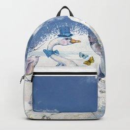 Well-To-Do Gentleman Goose Backpack