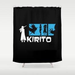Kirito Shower Curtain