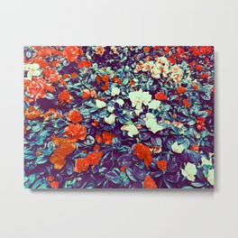 In the flowers Metal Print