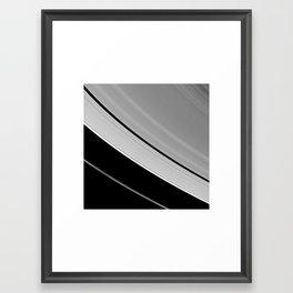 Sturn visible light at 7 miles per pixel Framed Art Print
