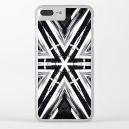 TRIBAL PATTERN Clear iPhone Case