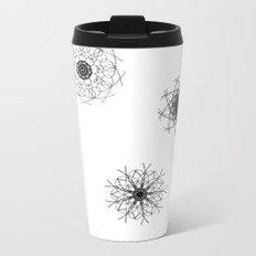 mandalas in the air Metal Travel Mug