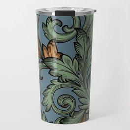 Acanthus Leaves Travel Mug