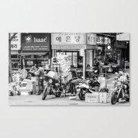 seoul Canvas Prints featuring Everyday Seoul by Jennifer Stinson