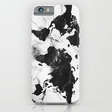 world map marble 3 iPhone 6s Slim Case