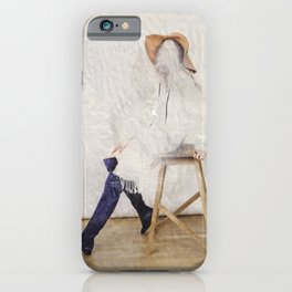 headless model No.01 iPhone Case