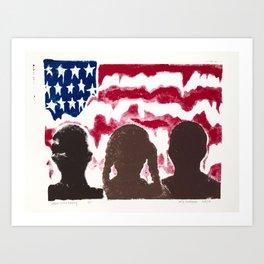 black lives matter. Art Print