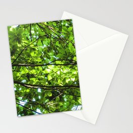 Leaf roof Stationery Cards