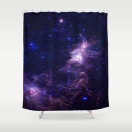 gAlAXY Purple Blue Shower Curtain
