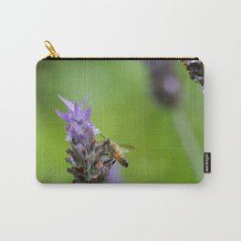 Bee and lavender Carry-All Pouch