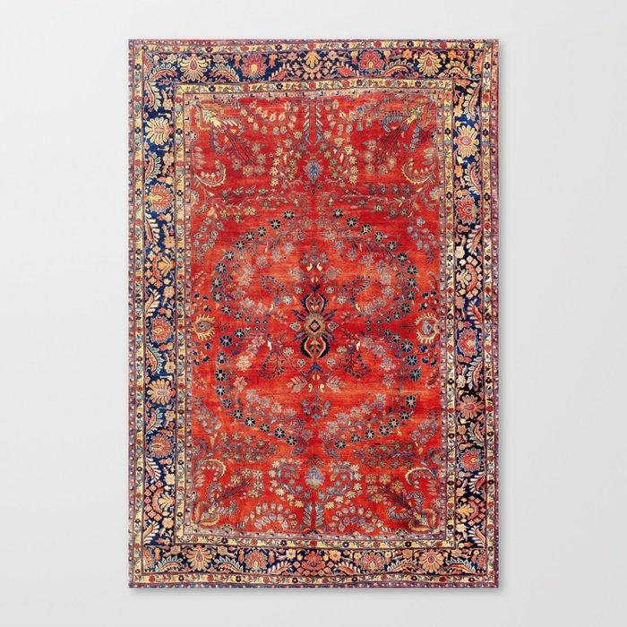 Sarouk Arak West Persian Carpet Print Leinwanddruck