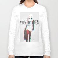 misfits Long Sleeve T-shirts featuring Misfits by SAH.
