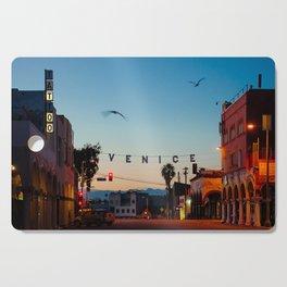 Venice Beach California Sunrise Cutting Board