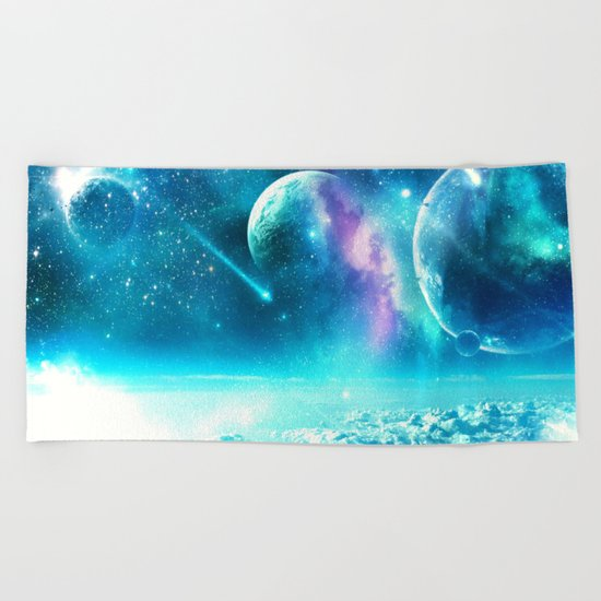 The Three Sisters Beach Towel