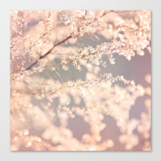 Delicate Flowers Canvas Print