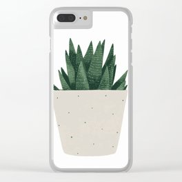 Spikey Clear iPhone Case