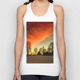 Dramatic Sunset Unisex Tank Top