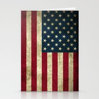 american flag Stationery Cards featuring American Flag by Abbie :)