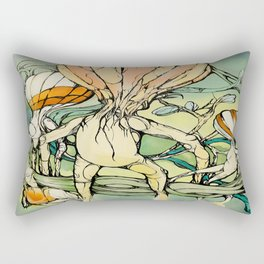 Lifted,Grounded. Rectangular Pillow