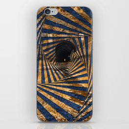 Paw Paw Tunnel - Spiral Psychedelia iPhone Skin