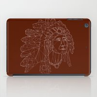 native american iPad Cases featuring native american by johanna strahl