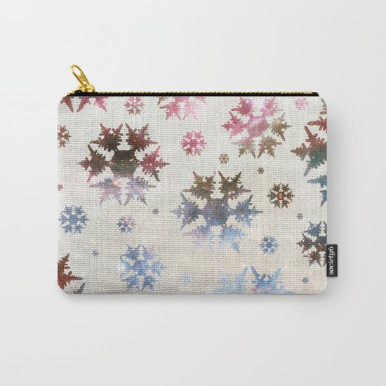 Star Snow Carry-All Pouch