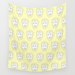 Yellow Hardy Wall Tapestry