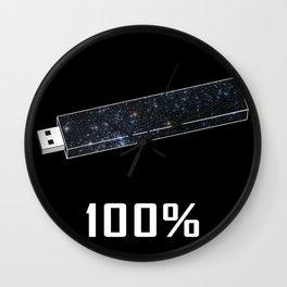 100% Wall Clock
